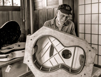 Ed Claxton, luthier, 2013